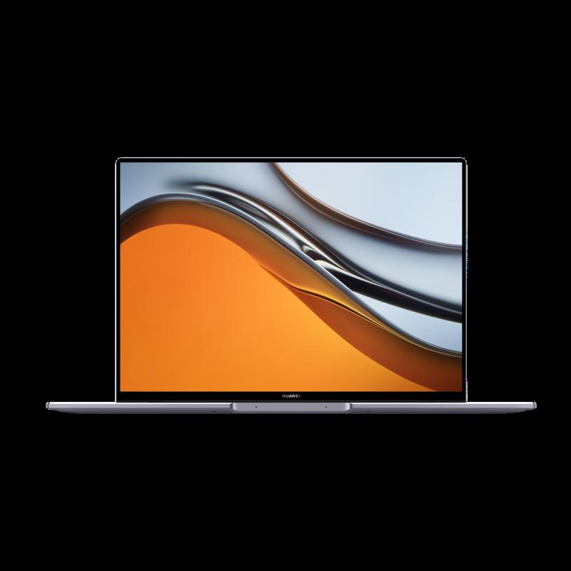 HUAWEI MateBook 16, AMD Ryzen™ 7 5800H, 16 GB RAM, 512 GB NVMe PCIe SSD, 16 Zoll 2.5K FullView-Display, Windows 10 Home, QWERTZ layout, Space Gray