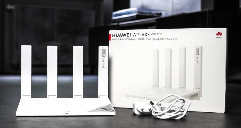 Router Wi-Fi HUAWEI AX3 quad-core recenzja