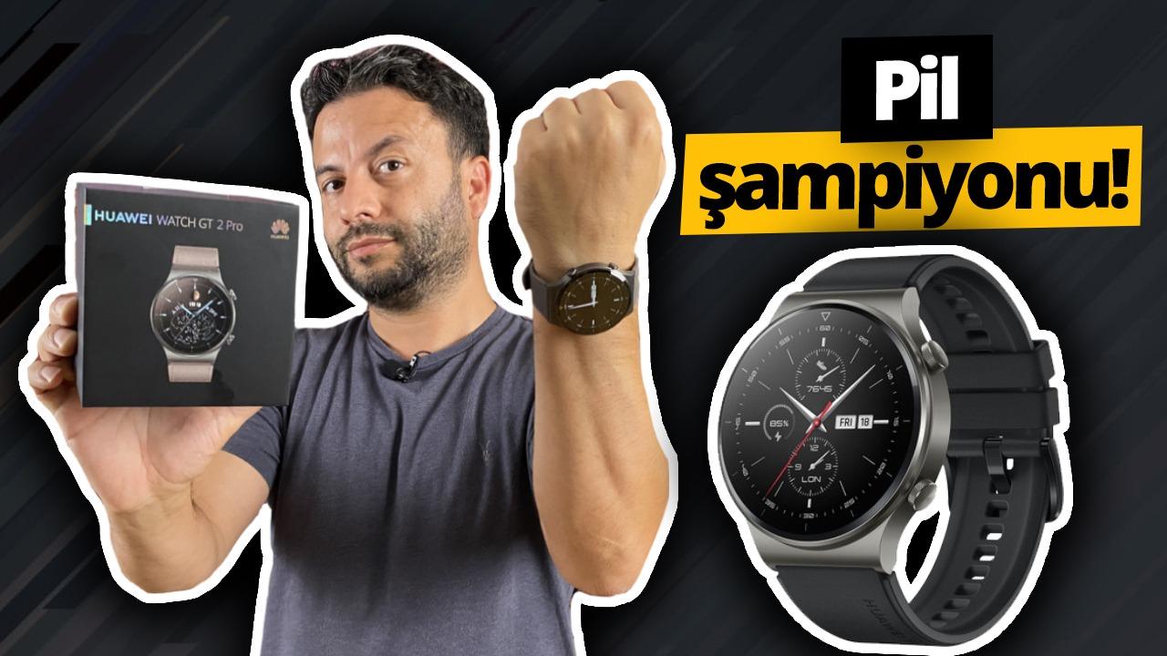 HUAWEI Watch GT2 Pro gözden geçirmek