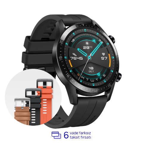 HUAWEI WATCH GT 2 46mm - Siyah