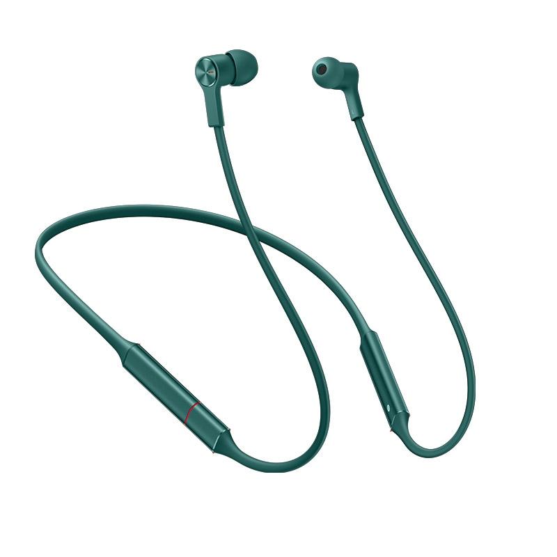 Беспроводные Bluetooth-наушники HUAWEI FreeLace Изумрудный зеленый