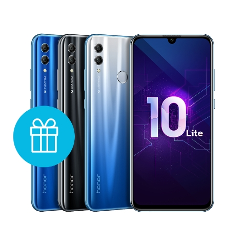 Honor 10 Lite 64 ГБ Синий