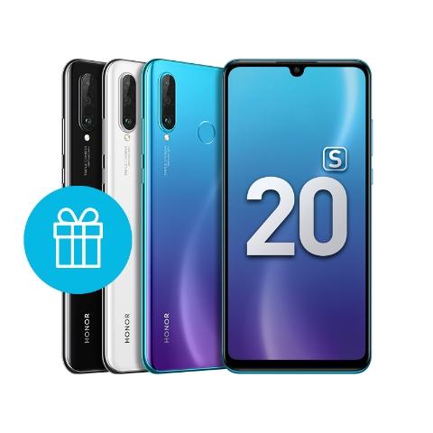 HONOR 20S Сине-фиолетовый