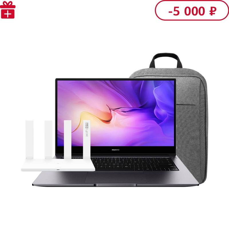 HUAWEI MateBook D 14 AMD R5 4500U 7-нм