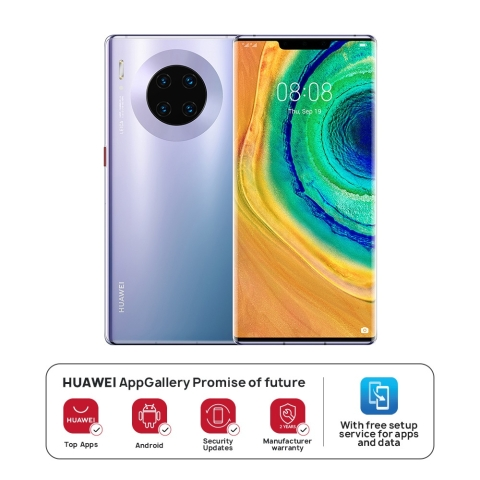 HUAWEI Mate30 Pro 4G LTE 8GB+256GB Space Silver