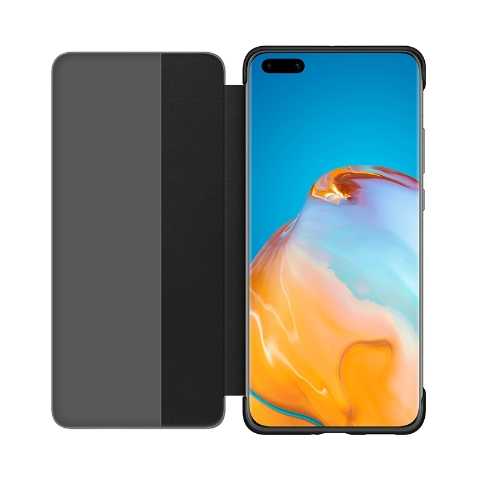 P40 Pro Smart View Flip Cover