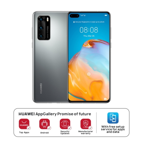 HUAWEI P40 5G 8GB+128GB Silver Frost