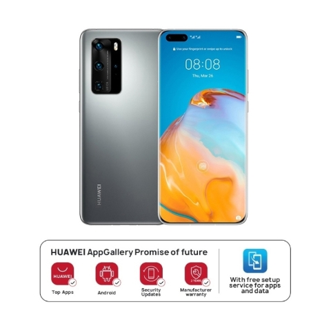 HUAWEI P40 Pro 5G 8GB+256GB Silver Frost