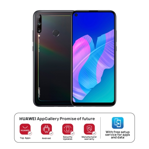 HUAWEI Y7p 4G LTE 4GB+64GB Midnight Black