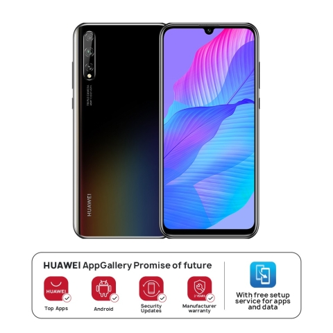 HUAWEI Y8p 4G LTE 6GB+128GB Midnight Black