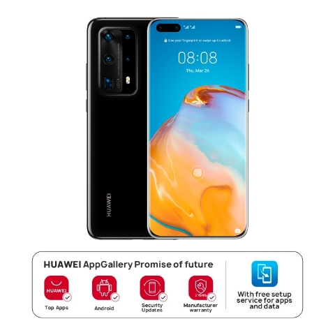 HUAWEI P40 Pro+ 5G 8GB+512GB Ceramic Black