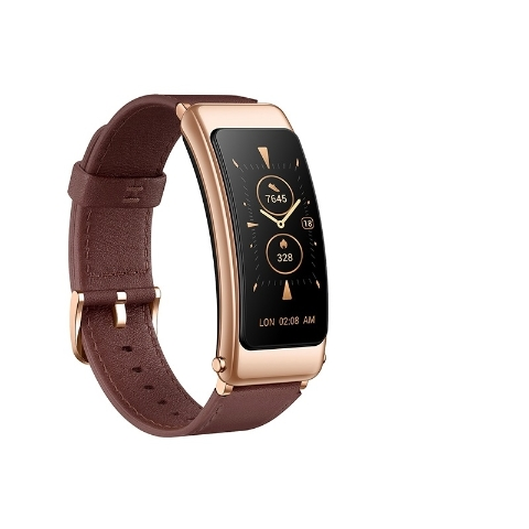 HUAWEI TalkBand B6 Mocha Brown Leather Strap