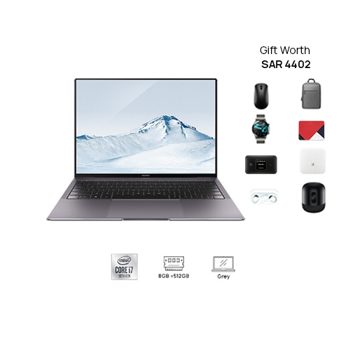 HUAWEI MateBook X Pro  i7 8GB+512GB Touch Screen  Grey