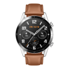 HUAWEI Watch GT2 (Pebble Brown Leather Strap)