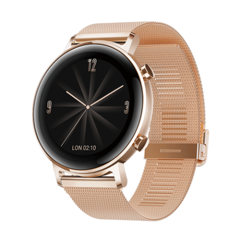 HUAWEI Watch GT2 Rose Gold Milanese Strap