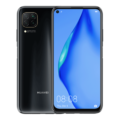 HUAWEI P40 lite 6GB+128GB Dual SIM Midnight Black