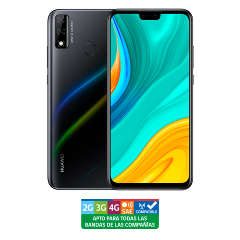 HUAWEI Y8s 4GB+64GB Dual SIM Midnight Black