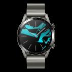 HUAWEI Watch GT 2 (46 mm, Titanium Gray)