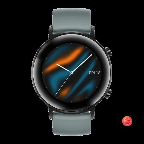 HUAWEI Watch GT 2 (42mm) (Lake Cyan)