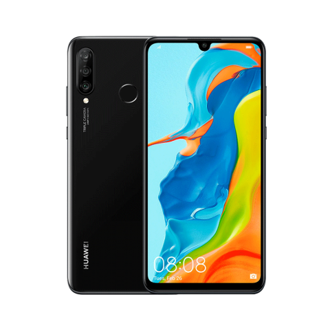 HUAWEI P30 Lite, 256 GB / 6 GB (Midnight Black)