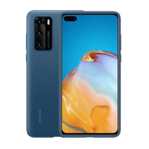 HUAWEI P40 Pro silicone case (Blue)