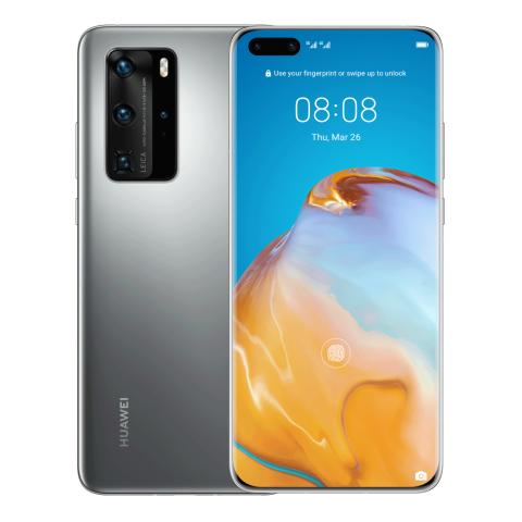 HUAWEI P40 Pro (Silver Frost) con HMS