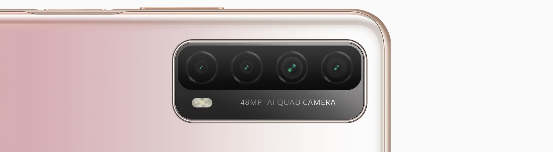 Huawei Y7a + Quad Ai Cameras
